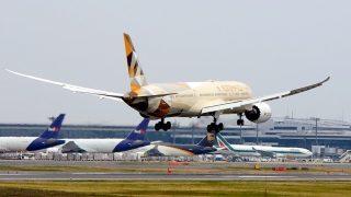 エティハド航空 ( ETIHAD Airlines ) B787-9 機体番号A6-BLE 型式B787-9 製造番号39650/305 登録2015/06
