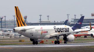 タイガーエアー ( Tiger Air ) A320-200 機体番号B-50001 型式A320-232 製造番号6187 登録2014/08