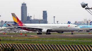アシアナ航空 ( ASIANA AIRLINES ) A330-300 機体番号HL7747 型式A330-323X 製造番号803 登録2006/12