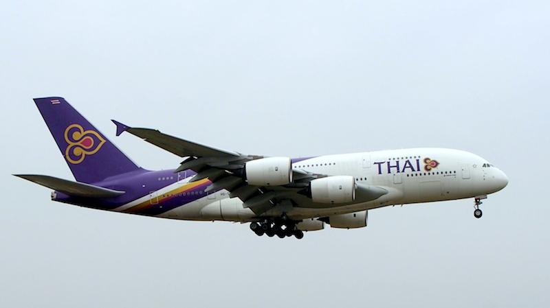 タイ国際航空 ( Thai International Airways ) A380 機体番号HS-TSU A380 型式A330-841 製造番号100 登録2012/12