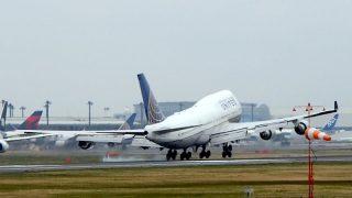 ユナイテッド航空 ( United Airlines )B747-400 機体番号N118UA B747-400 型式Boeing747-422 製造番号28811/1201 登録1999/02