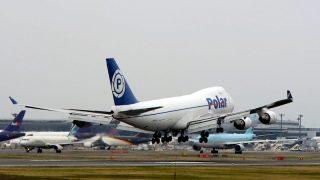 ポーラーエアーカーゴ ( Polar air cargo ) B747-400 機体番号N450PA B747-400 型式Boeing747-46NF/SCD 製造番号30808/1257 登録2000/10