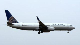 ユナイテッド航空 ( United Airlines ) B737-800 機体番号N73299 型式Boeing737-824 製造番号34005/1821 登録2005/11