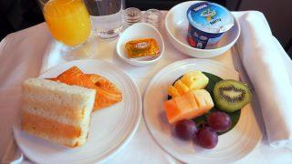 マレーシア航空 MH88 クアラルンプール – 成田 ビジネスクラス 機内食