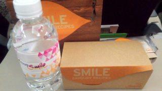 THAI Smile WE165 チェンマイ – バンコク エコノミークラス機内食
