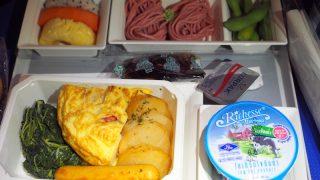 全日空 NH850 バンコク - 羽田 プレミアムエコノミークラス機内食