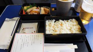全日空 ANA464 那覇 - 羽田 プレミアムクラス機内食