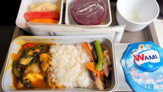 キャセイパシフィック CX766 ホーチミン - 香港 エコノミークラス 機内食