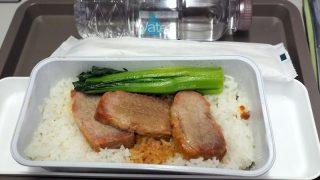 キャセイパシフィック CX 460 香港 - 台北 エコノミークラス 機内食