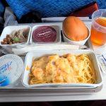 キャセイパシフィック CX 450 台北 - 成田 エコノミークラス 機内食