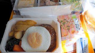 全日空 NH853 羽田 - 台北(松山) エコノミークラス 機内食