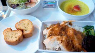 マレーシア航空 MH775 バンコク - クアラルンプール ビジネスクラス機内食
