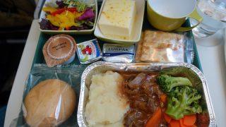 エチオピア航空 ET672 香港 - 成田 エコノミークラス機内食 昼食