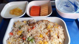 バンコクエアウエイズ PG943 バンコク - ビエンチャン エコノミークラス機内食 昼食
