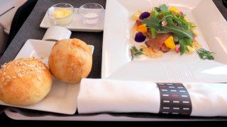 日本航空 JL31 羽田 - バンコク ビジネスクラス機内食 昼食