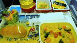 日本航空 JL784 成田 - ホノルル エコノミークラス機内食 俺の機内食 for Resort