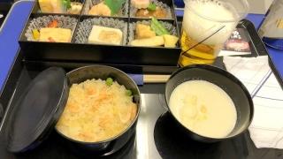 全日空 ANA36 伊丹 - 羽田 プレミアムクラス機内食