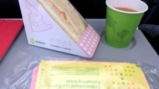 S7 Airlines S7 6281 ウラジオストク - 成田 エコノミークラス 機内食