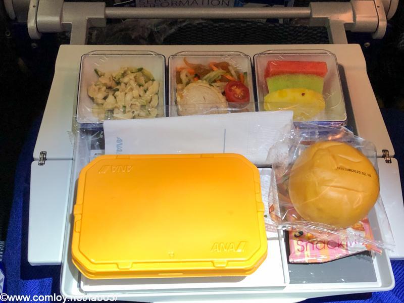 全日空 NH854 台北 - 羽田 エコノミークラス機内食