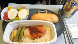 デルタ航空 DL181 ホノルル - 成田 エコノミークラス 機内食
