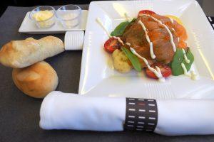 日本航空JL31 羽田-バンコクビジネスクラス機内食