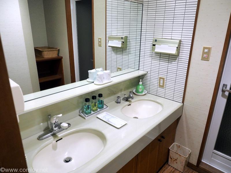 ホテル高州園 洗面台