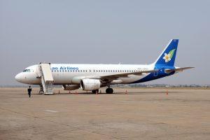 ラオス国営航空 A320