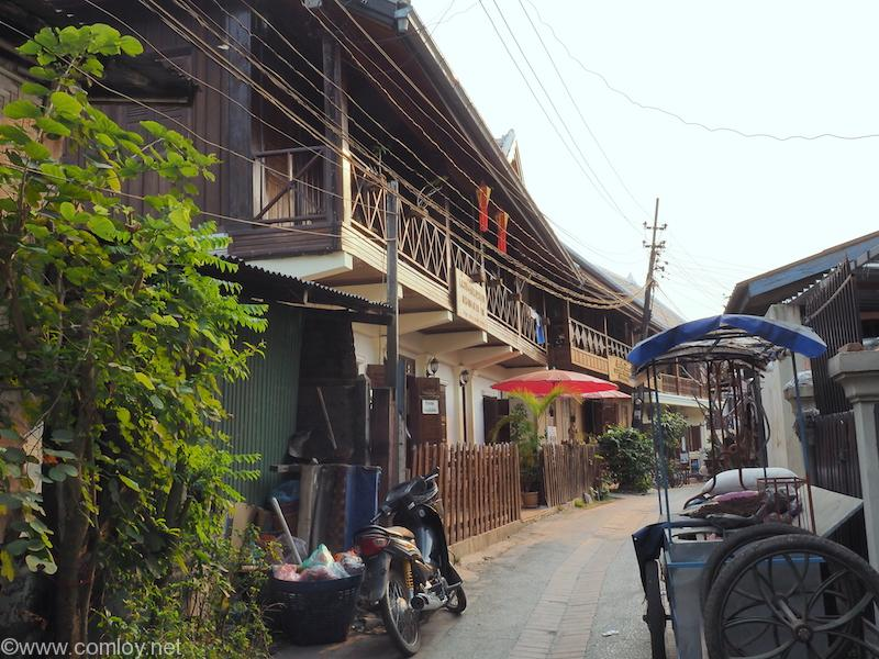 ルアンパバーン 路地