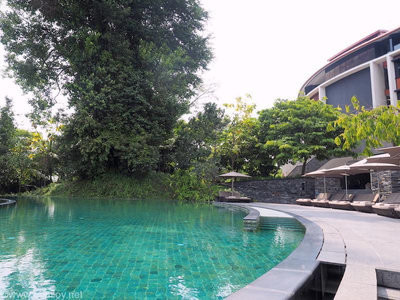 Capella Singapore プール