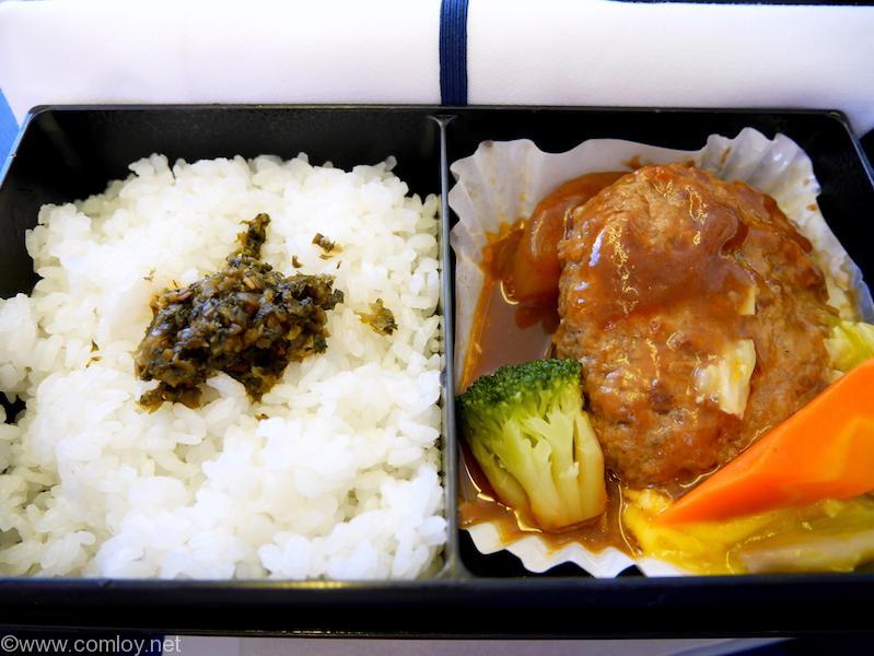 NH859 羽田ー香港 ビジネスクラス機内食