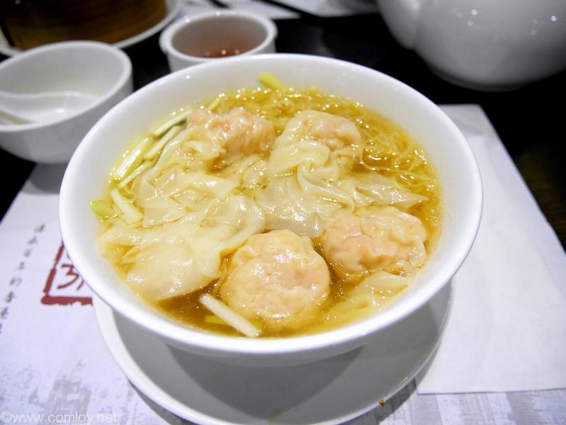糖朝 海老ワンタン麺