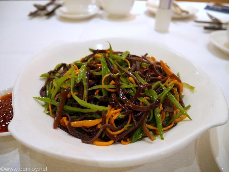 DYNASTY CLUB(皇朝)キクラゲと野菜の炒め物