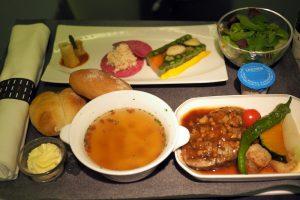 日本航空 JL99 羽田-台北(松山)ビジネスクラス機内食