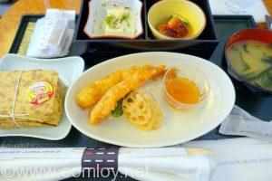 日本航空 JAL904 沖縄ー羽田 国内線ファーストクラス機内食
