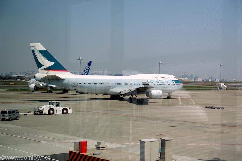 キャセイパシフィック航空 B747