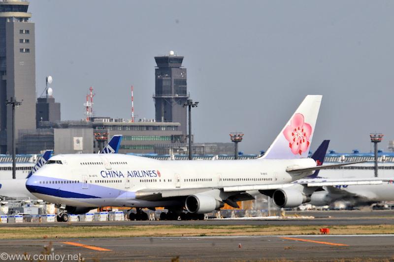 CHAINA AIRLINE ボーイング747