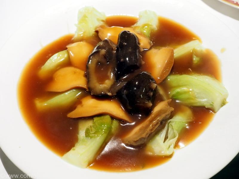 阿一海景飯店 なまこと野菜の煮物