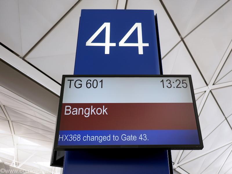 タイ航空 TG601 ボーディング