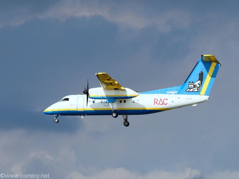 RAC Bombardier DHC-8-103 Dash 8