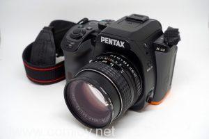 PENTAX K-S2にSMC PENTAX f1.4 50mmをつけてみる