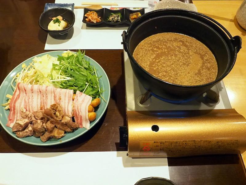 仙石高原箱根一の湯 胡麻の香り豊かな「滋養胡麻味噌肉鍋」