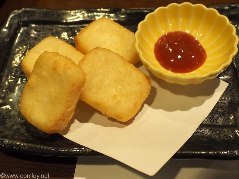 仙石高原箱根一の湯 サービス品:豆腐ナゲット