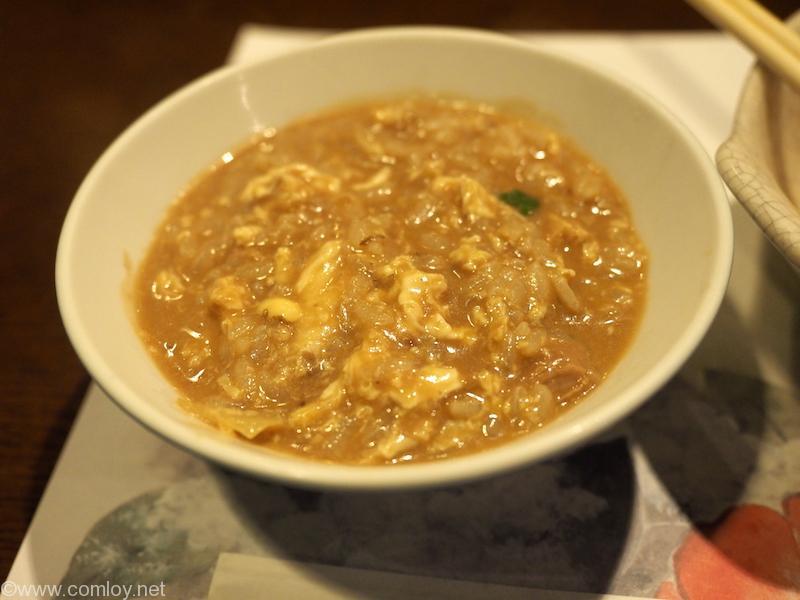 仙石高原箱根一の湯 鍋のシメはやはり雑炊でしょう