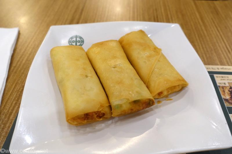"TimHoWan Bangkok ""Beancurd Skin Roll with Shrimp"""