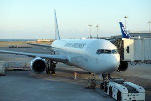 日本航空 JAL900 沖縄 - 羽田 ボーディング