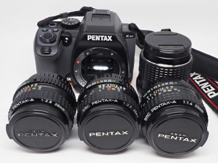 単焦点オールドレンズを含むペンタックスのシステム構成