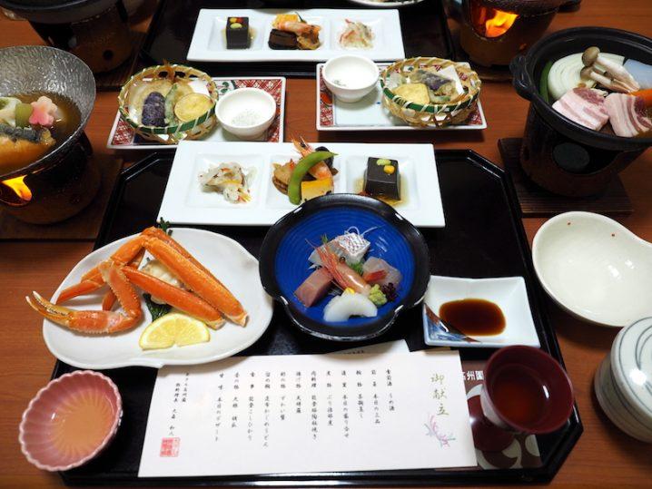 ホテル高州園 夕食
