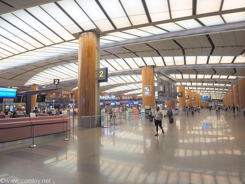 シンガポール チャンギ空港