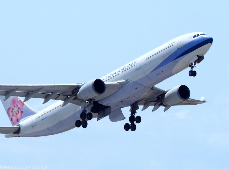 Chaina Airlines 離陸