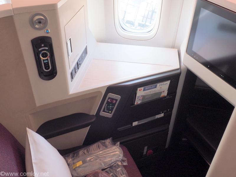 日本航空 JL32 バンコク ー 羽田 ビジネスクラス JAL SKY SUITE Ⅲ